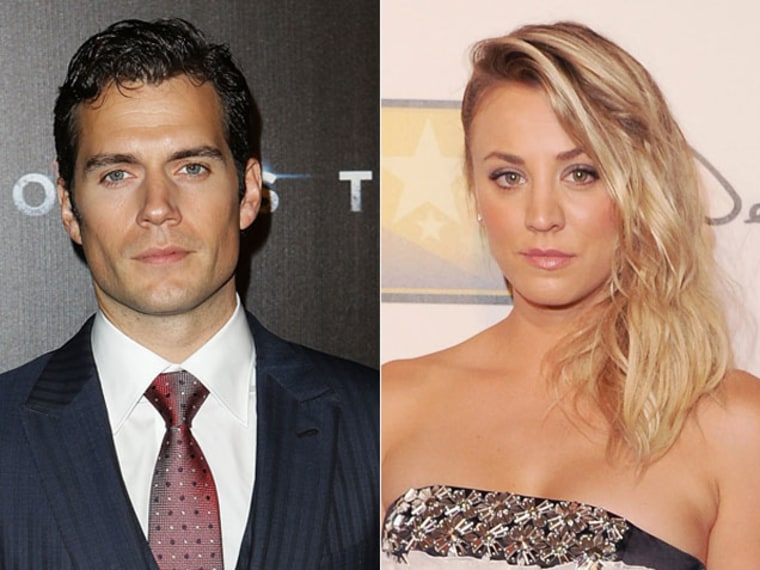Kaley Cuoco and Henry Cavill Are Dating