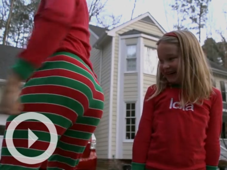 Viral Video: Will Smith Jammies Christmas Card