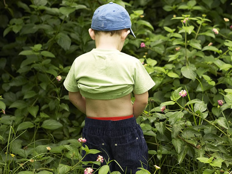 Potty Training Tips: Is Peeing in Public for Kids Okay?