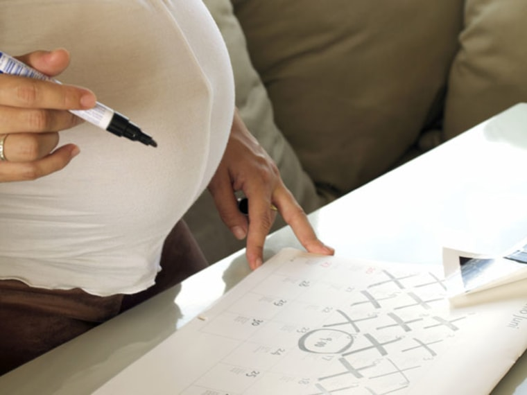 Pregnancy Calendar -- Doctors Say Full Term Pregnancy Is 10 Months