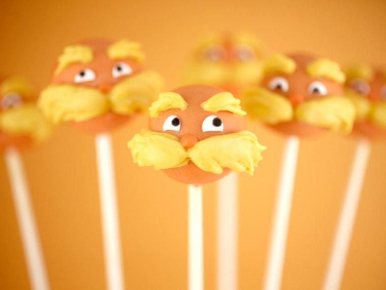 Lorax Birthday Lollipop