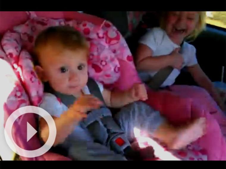 Viral Video: Amaya Sleeping
