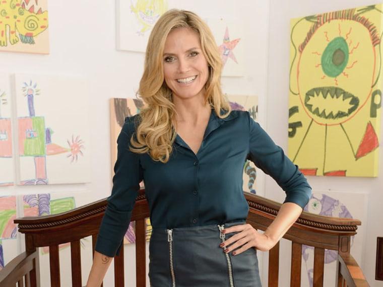 Heidi Klum Partners With Shutterfly