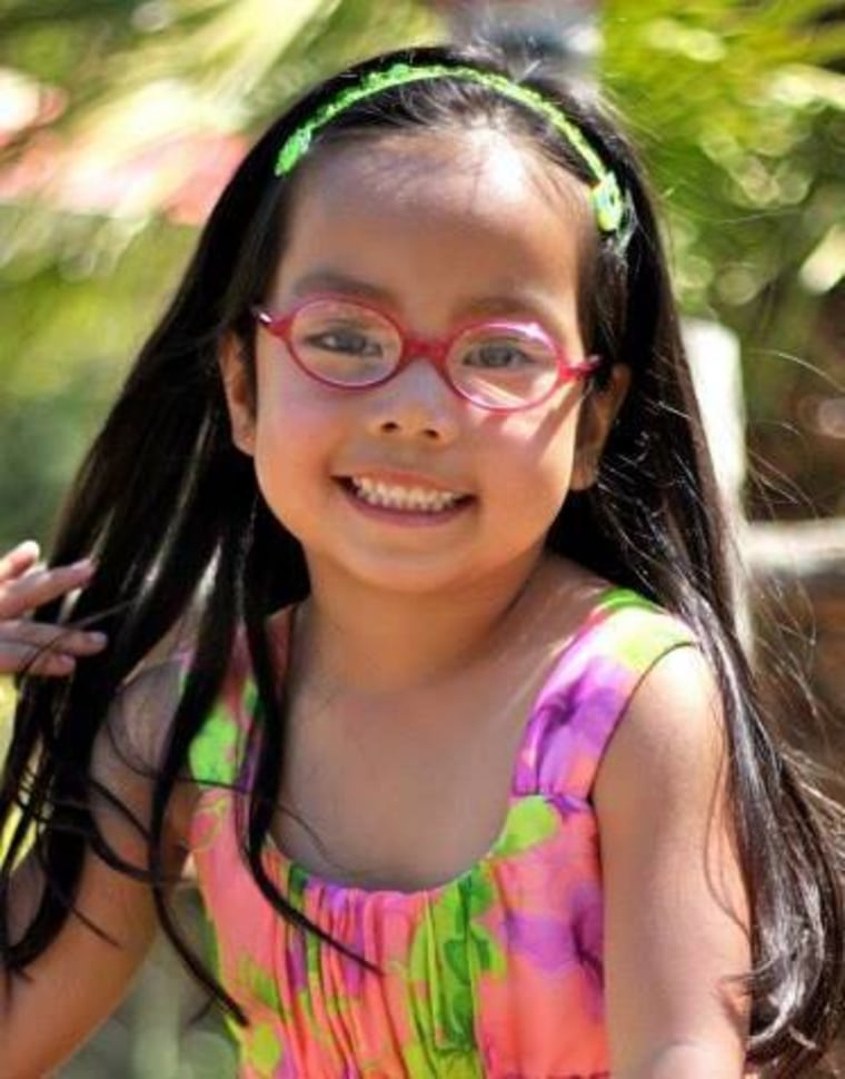 Gabriella, age 4