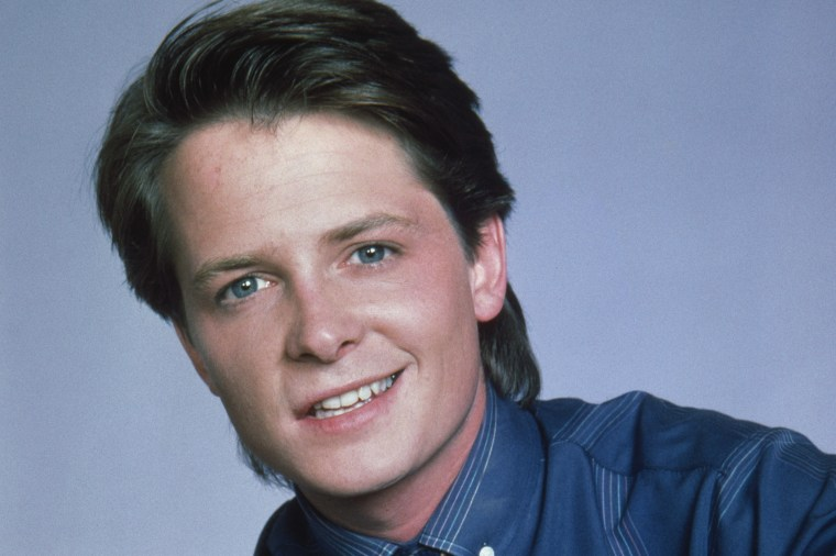 FAMILY TIES -- Pictured: Michael J. Fox as Alex P. Keaton -- Photo by: NBCU Photo Bank .