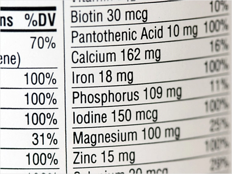 Will Vitamins Help or Harm You?