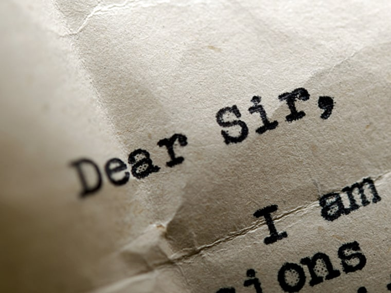 writing an awesome cover letters