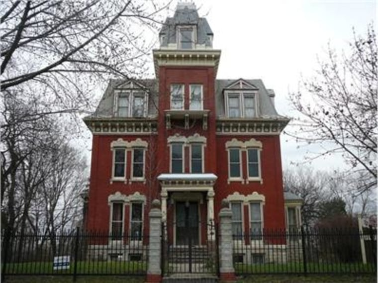 This home's reputation as being haunted didn't deter would-be buyers, who ended up in a bidding war for the Joliet, Ill., property.