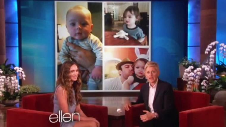 Image: Megan Fox, Ellen DeGeneres