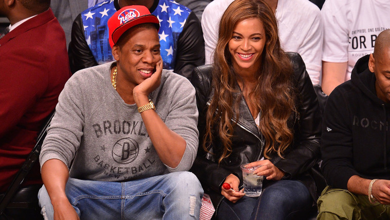 Image: Jay Z and Beyonce