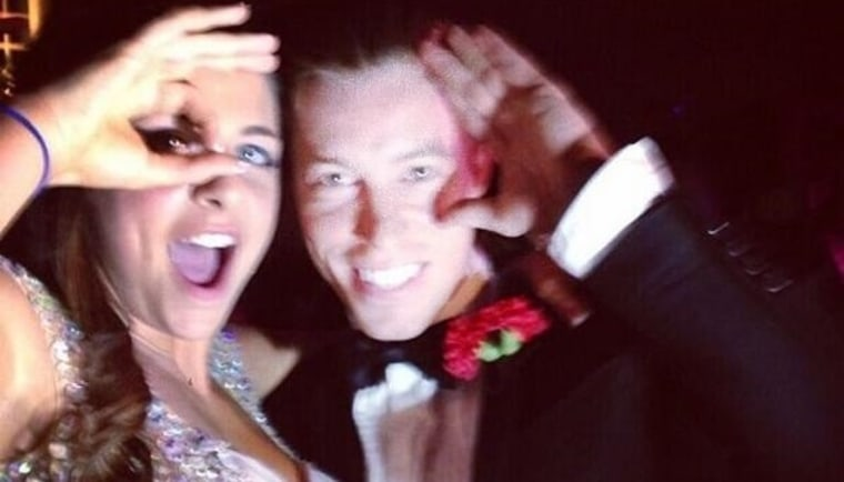 Shaun White attends prom