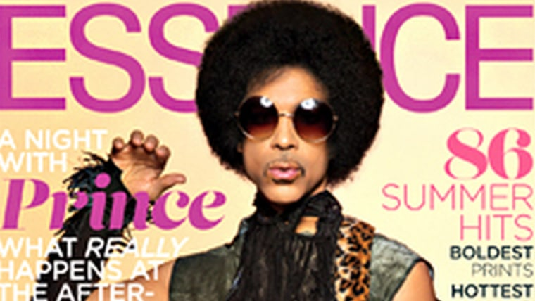 Prince on the cover of Essence magazine.