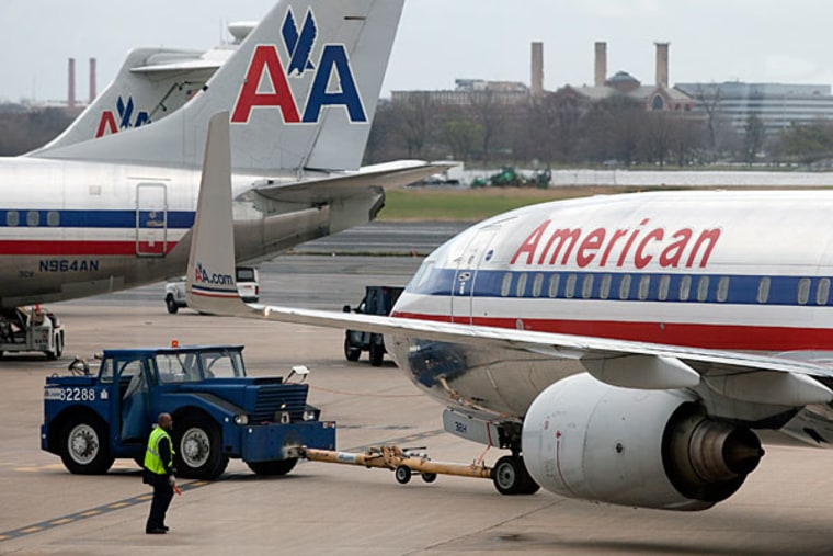 American Airlines has one of the top-ranked frequent-flier programs.