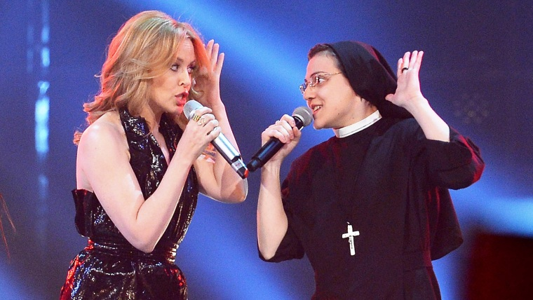 Image: Kylie Minogue and Suor Cristina