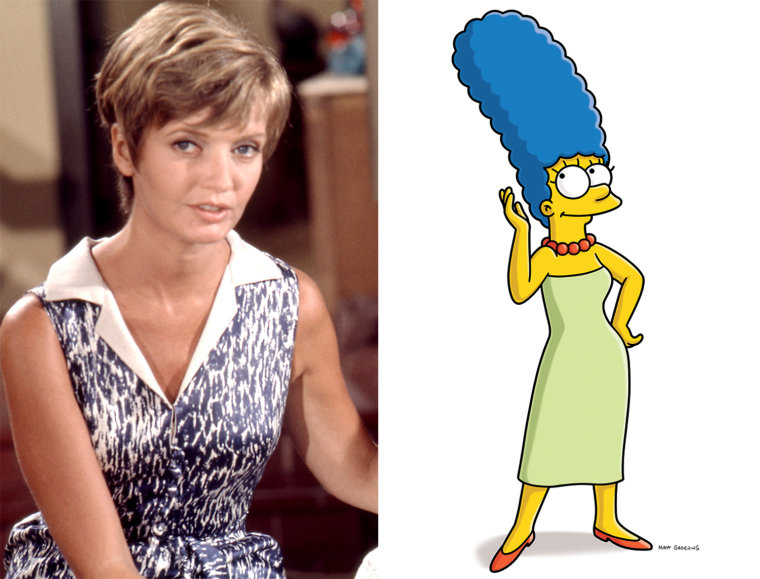 IMAGE: Carol Brady, Marge Simpson