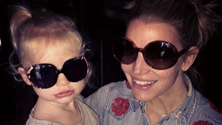 Image: Jessica Simpson and daughter Max