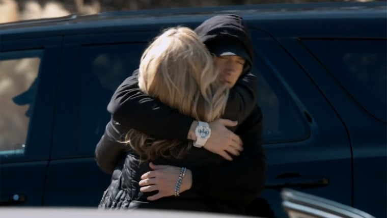 Eminem and Debbie Mathers