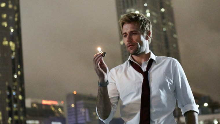 "CONSTANTINE -- ""Pilot"" -- Pictured: Matt Ryan as John Constantine -- (Photo by: Quantrell Colbert/NBC)"