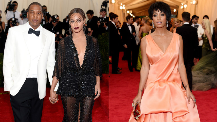 Jay Z, Beyonce, Solange Knowles