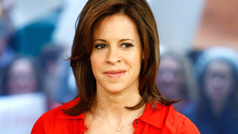"""TODAY -- Pictured: Jenna Wolfe appears on NBC News' """"Today"""" show -- (Photo by: Peter Kramer/NBC/NBC NewsWire)"""