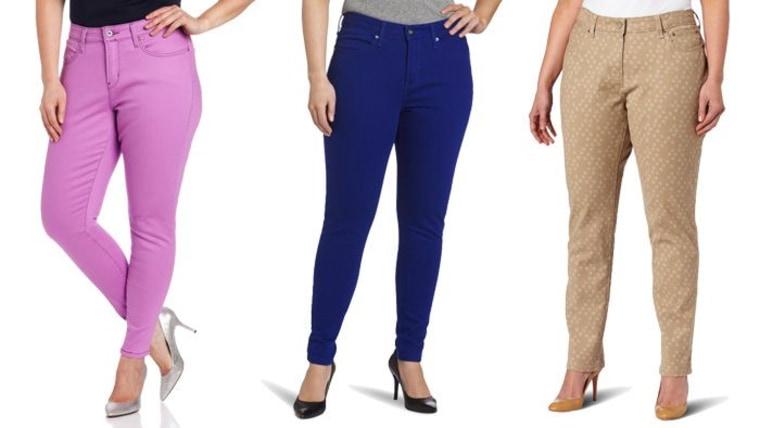 Cheap plus size jeans