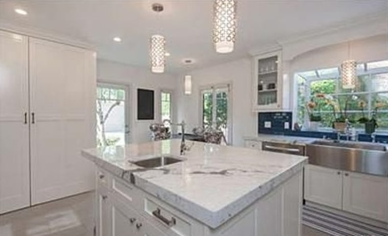 January Jones updated her Los Feliz home, including the kitchen, before putting it on the market for $1.495 million.