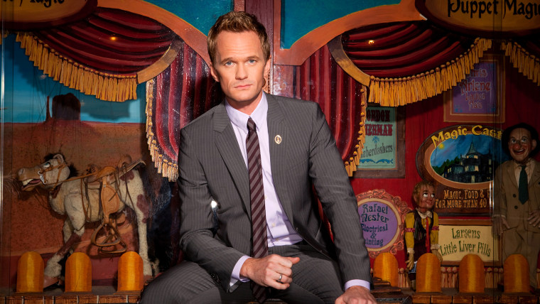 Neil Patrick Harris would rather have a variety show than take over late night.