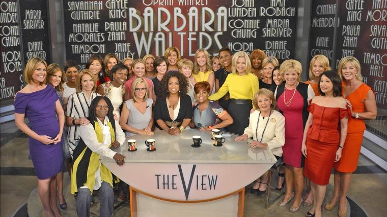 Barbara Walters farewell