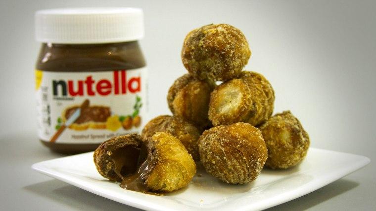 Nutella Cronut holes created to celebrate hazelnut spread's anniversary