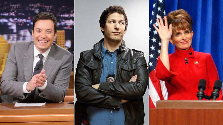 Jimmy Fallon, Andy Samberg, Tina Fey