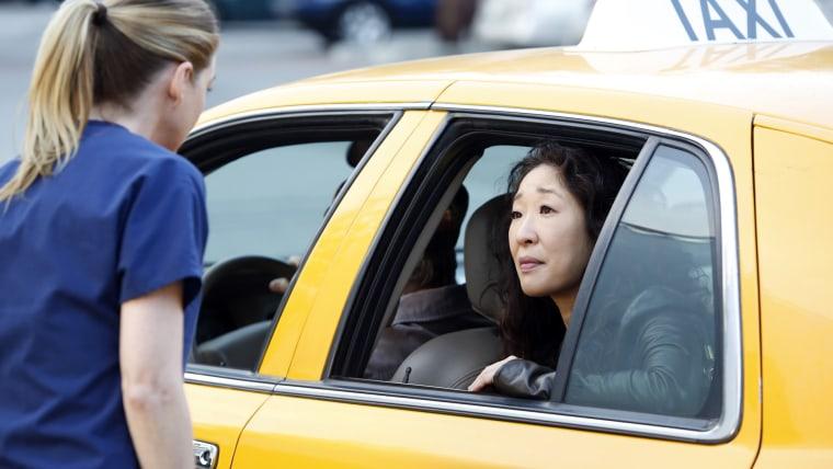 Image: Meredith and Cristina on Grey's Anatomy