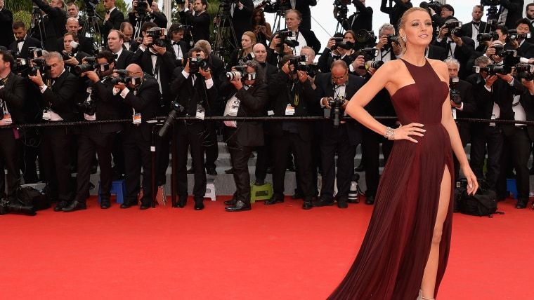 """CANNES, FRANCE - MAY 14:  Blake Lively attends the Opening ceremony and the """"Grace of Monaco"""" Premiere during the 67th Annual Cannes Film Festival on ..."""