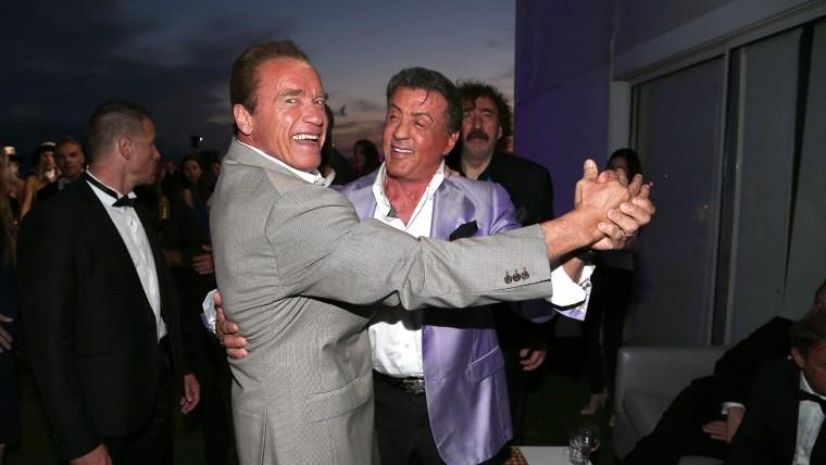 IMAGE: Schwarzenegger, Stallone