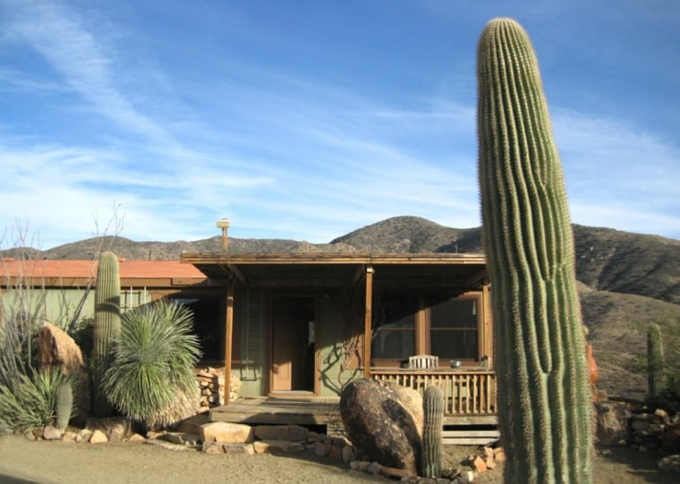 This off-the-grid manufactured home is two hours from anywhere in rural Arizona. It's part of the Octave mine property.