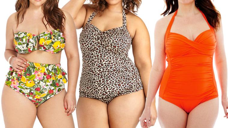 Best plus-size swimsuits: one-piece, bikinis