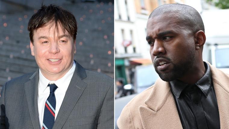Image: Mike Myers, Kanye West