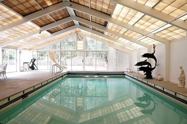 The buyer of this Boston-area home gets some movie history along with the pool.