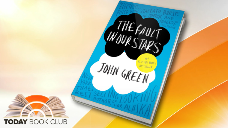"""The latest TODAY Book Club pick, John Green's \""""The Fault in Our Stars\"""""""