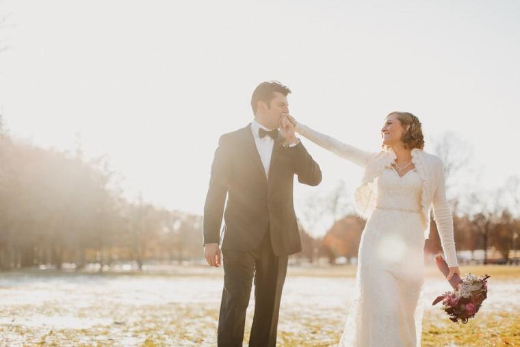 real wedding gasper and hernandez