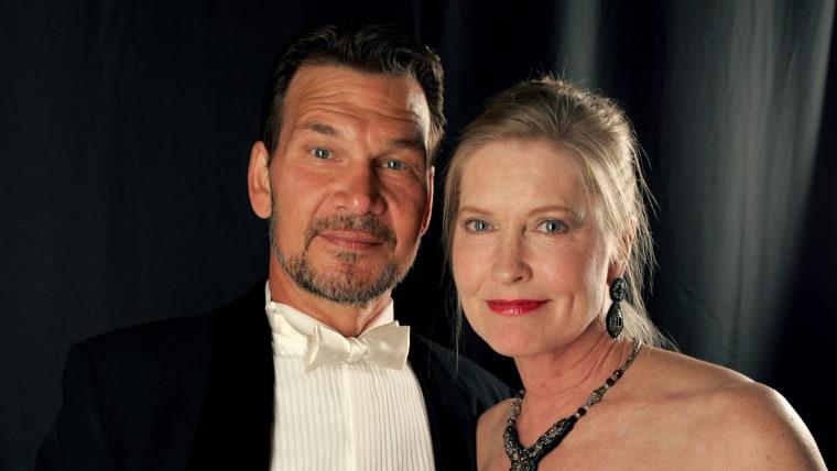 Image: Patrick Swayze and Lisa Niemi in 2007