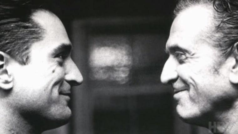 Image: Robert De Niro and father