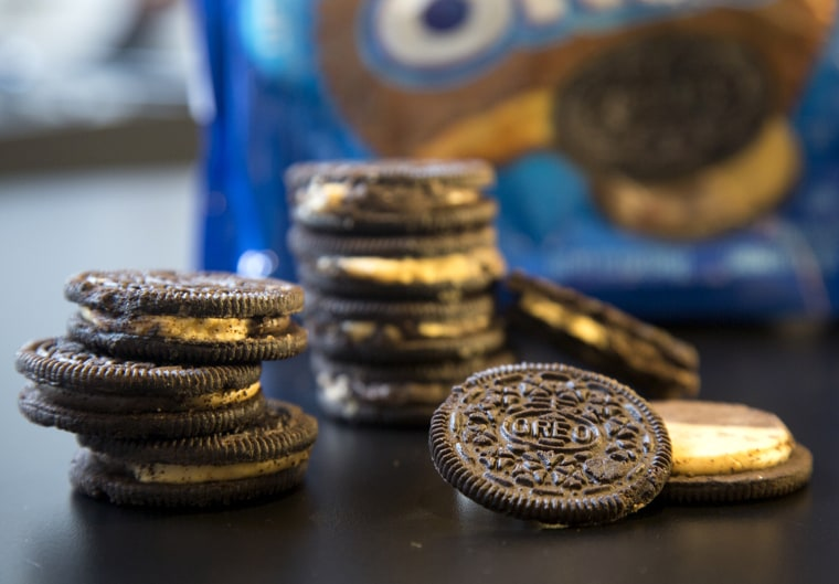TODAY: The new peanut butter Oreos.