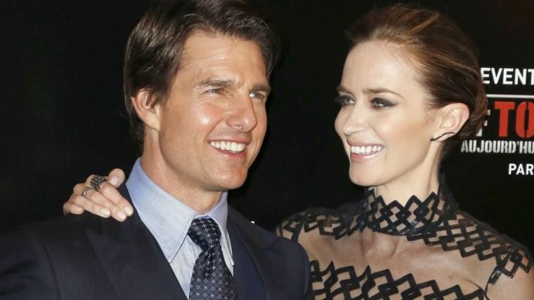 Image: Tom Cruise, Emily Blunt