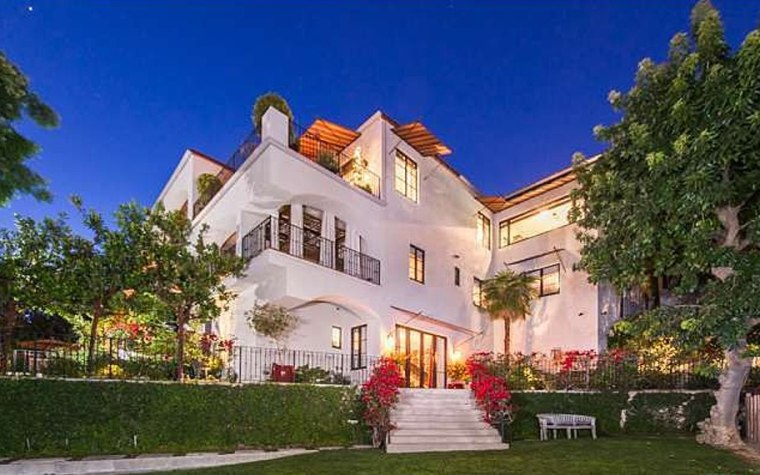 The home of Megan Fox and Brian Austin Green has views of downtown L.A., Long Beach, Century City and the ocean.
