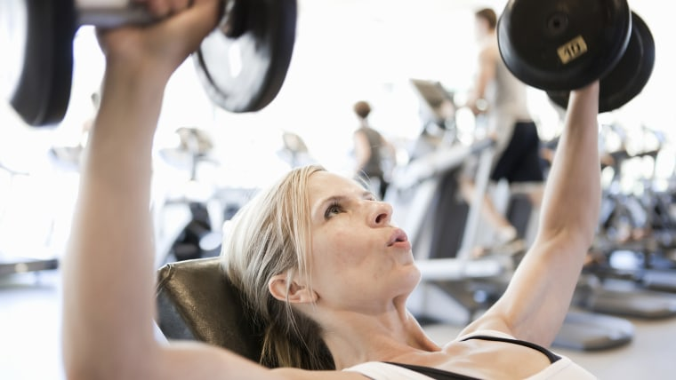 Summer can be a good time to join a gym.