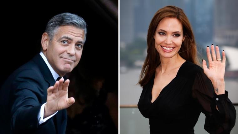 George Clooney, Angelina Jolie