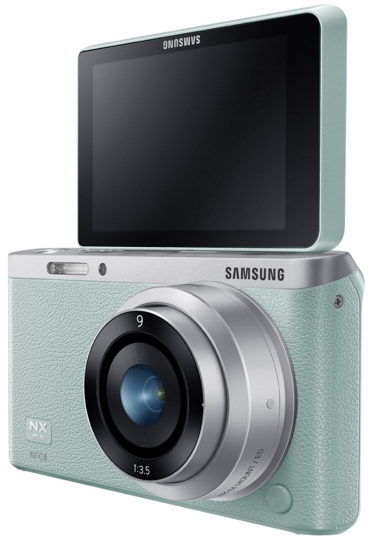 Image: Samsung NX Mini camera.