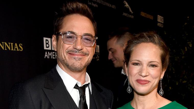 Robert Downey Jr. and wife Susan.
