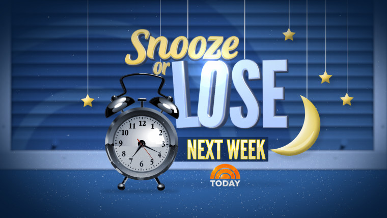 Snooze or Lose on TODAY