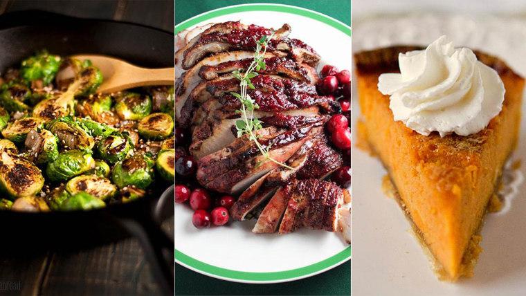 Pumpkin rolls, glazed turkey and 9 more of Pinterest's most popular Thanksgiving recipes